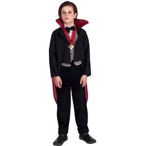 Childs Creepy Vampire Costume Age 10-12 Years