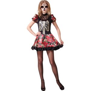 Day of the Dead Doll Costume Size 10-14