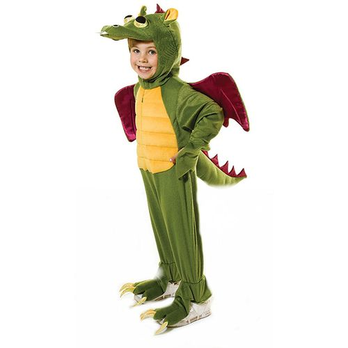 Childs Dragon Fancy Dress Costume Age 8-10 Years