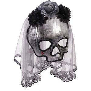 Ghostly Spirit Mask On Glasses Frame