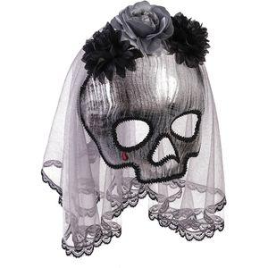 Ghostly Spirit Mask On Glasses Frame