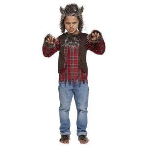 Childs Werewolf Costume Age 10-12 Years