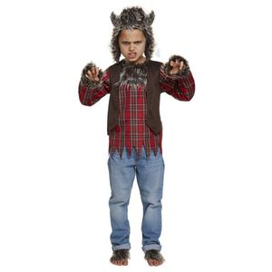 Childs Werewolf Costume Age 7-9 Years