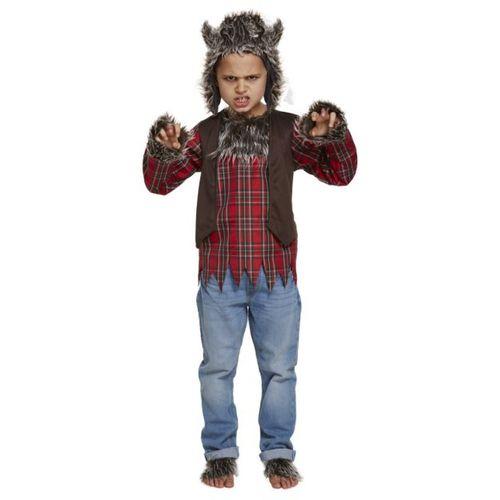 Childs Werewolf Halloween Fancy Dress Costume Age 7-9 Years