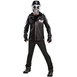 Bad to the Bone Skeleton Teen Costume Age 14-16