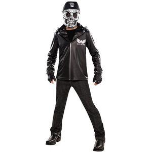 Bad to the Bone Skeleton Teen Fancy Dress Age 12-14