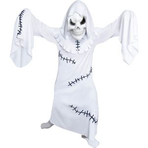 Childs White Ghastly Ghoul Fancy Dress Age 9-11 Years