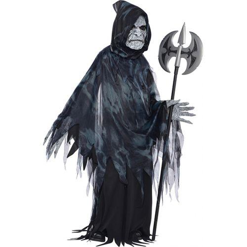ChildsSoul Taker Ghoul Halloween Fancy Dress Costume Age 8-10 Years