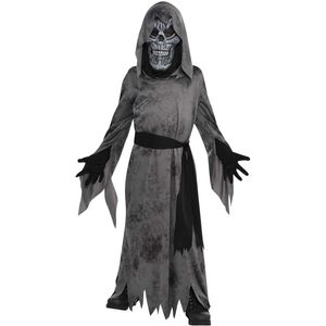 Childs Grey Ghastly Ghoul Fancy Dress Age 4-6 Years