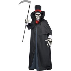 Dapper Death Ghoul Fancy Dress Costume Size M-L