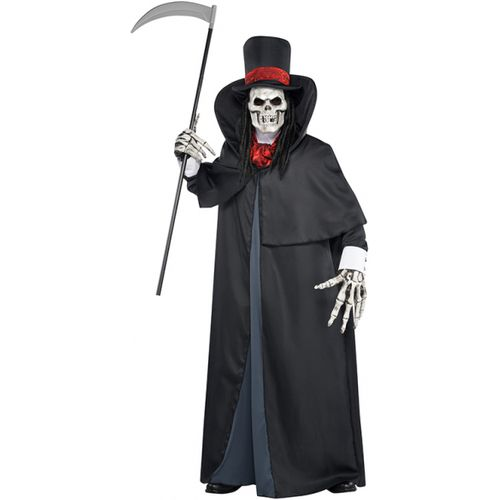 Dapper Death Ghoul Halloween Fancy Dress Costume Size M-L