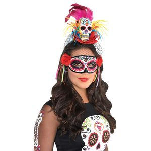 Day of the Dead Sugar Skull Headband