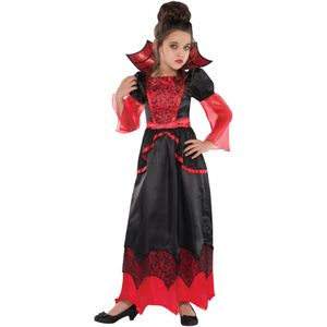 Childs Vampire Queen Fancy Dress Age 8-10 Years