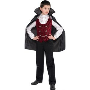 Childs Dark Vampire Fancy Dress Age 4-6 Years