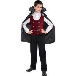 Childs Dark Vampire Fancy Dress Age 8-10 Years
