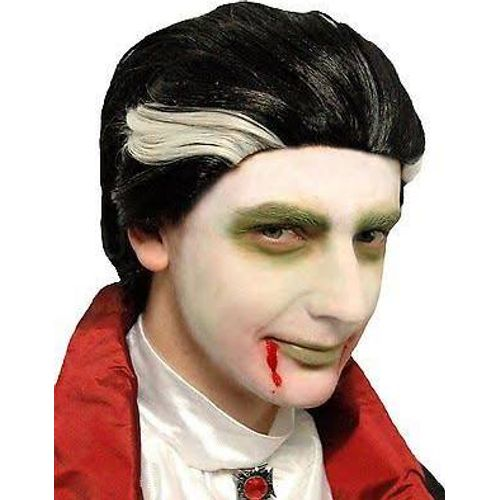 Count Dracula Vampire Halloween Fancy Dress Wig