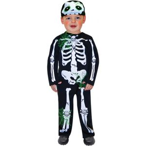 Childs Skeleton Fancy Dress Toddler Age 2-3 Years