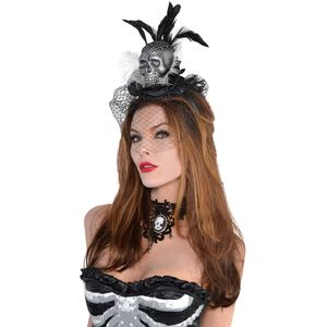 Skull Couture Fancy Dress Headband