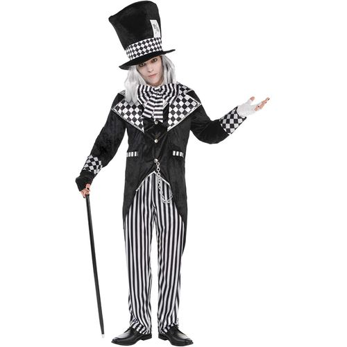 Totally Mad Hatter Halloween Fancy Dress Costume Size M-L