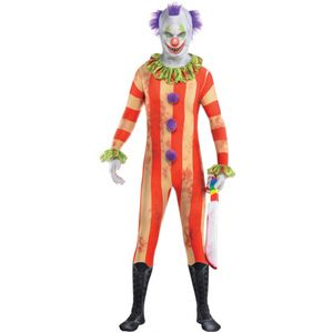 Childs Clown Party Suit Fancy Dress Age 10-12 Years