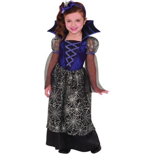 Miss Wicked Web Halloween Fancy DressCostume Age 3-4 Years