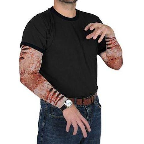 Bloody Scar Zombie Bite Sleeve fancy Dress Halloween Costume Accessory