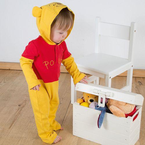 Disney Winnie the Pooh Romper with Hood 0-3 Months