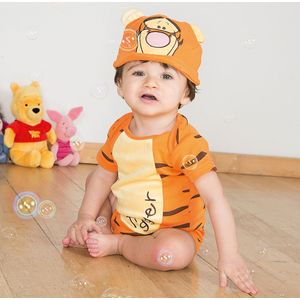 Disney Winnie the Pooh Tigger Bodysuit & Hat 3-6 Months