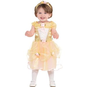 Disney Princess Belle Dress - Age 6-12 Months