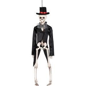 Skeleton Groom Hanging Decoration 43cm