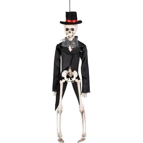 Skeleton Groom Hanging Decoration 43cm Hallwoween Party Accessory