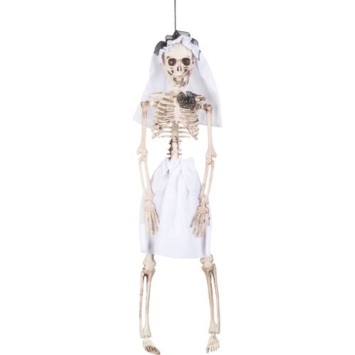 Skeleton Bride Hanging Decoration 40cm Halloween Party Accessory
