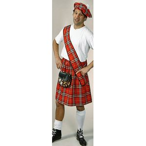 Tartan Set Ex Hire Sale Costume Size M-L