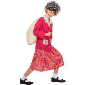 Childs Gangster Grandma Medium 7-9 Years