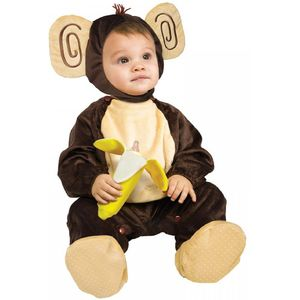 Childs Monkey Going Bananas Jumpsuit - 6-12 Months
