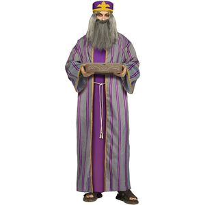 Adult Wise Man Costume (Purple)