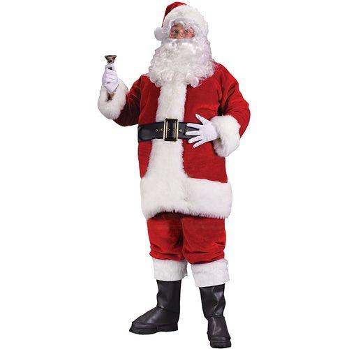 Adult Deluxe Santa Suit - Size XL