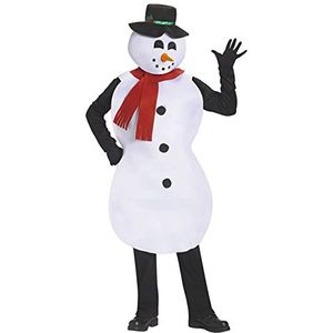 Jolly Snowman Mascot Costume