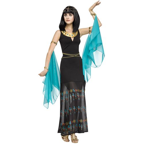 Egyptian Queen Fancy Dress Costume Size S-M UK 8-10
