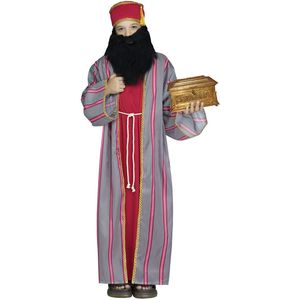 Childs Wise Man Costume (Red) Small