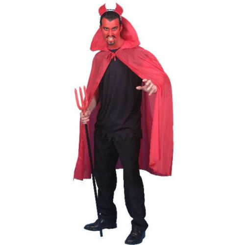 Red Long Devil Cape