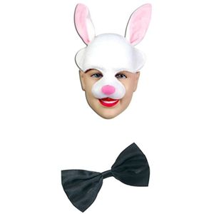 Bunny Mask & Bow Tie