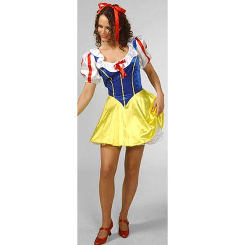 Snow White Ex Hire Sale Fancy Dress Costume Size M