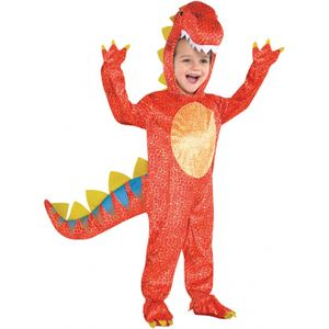 Childs Dinomite Dinosaur Costume Age 4-6 Years