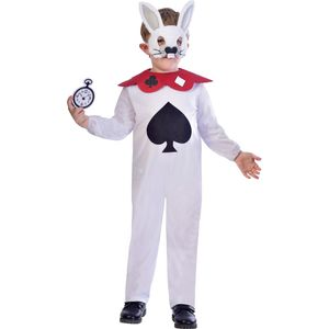 Childs White Rabbit Costume Age 9-10 Years