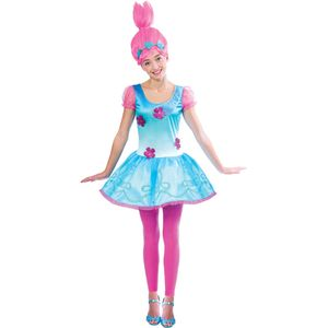 Childs Trolls Poppy Girls Fancy Dress Age 10-12 Years