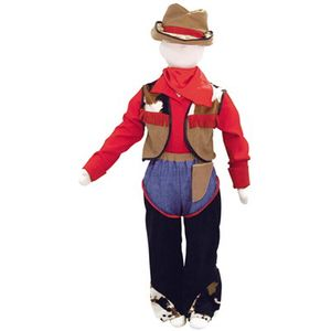 Childs Cowboy Ex Hire Sale Costume - Age 6 - 8