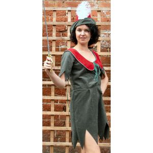 Ladies Sexy Robin Hood Ex Hire Sale Costume