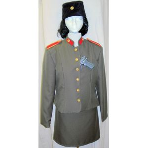 Female KGB Officer Ex Hire Sale Costume Size 12