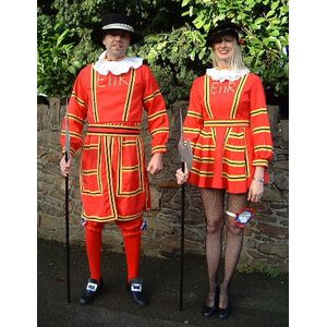 Beefeater Lady Ex Hire Sale Costume
